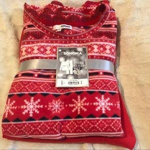 Cozy winter pajama set